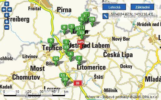 Rychlé vložení API mapy na váš web